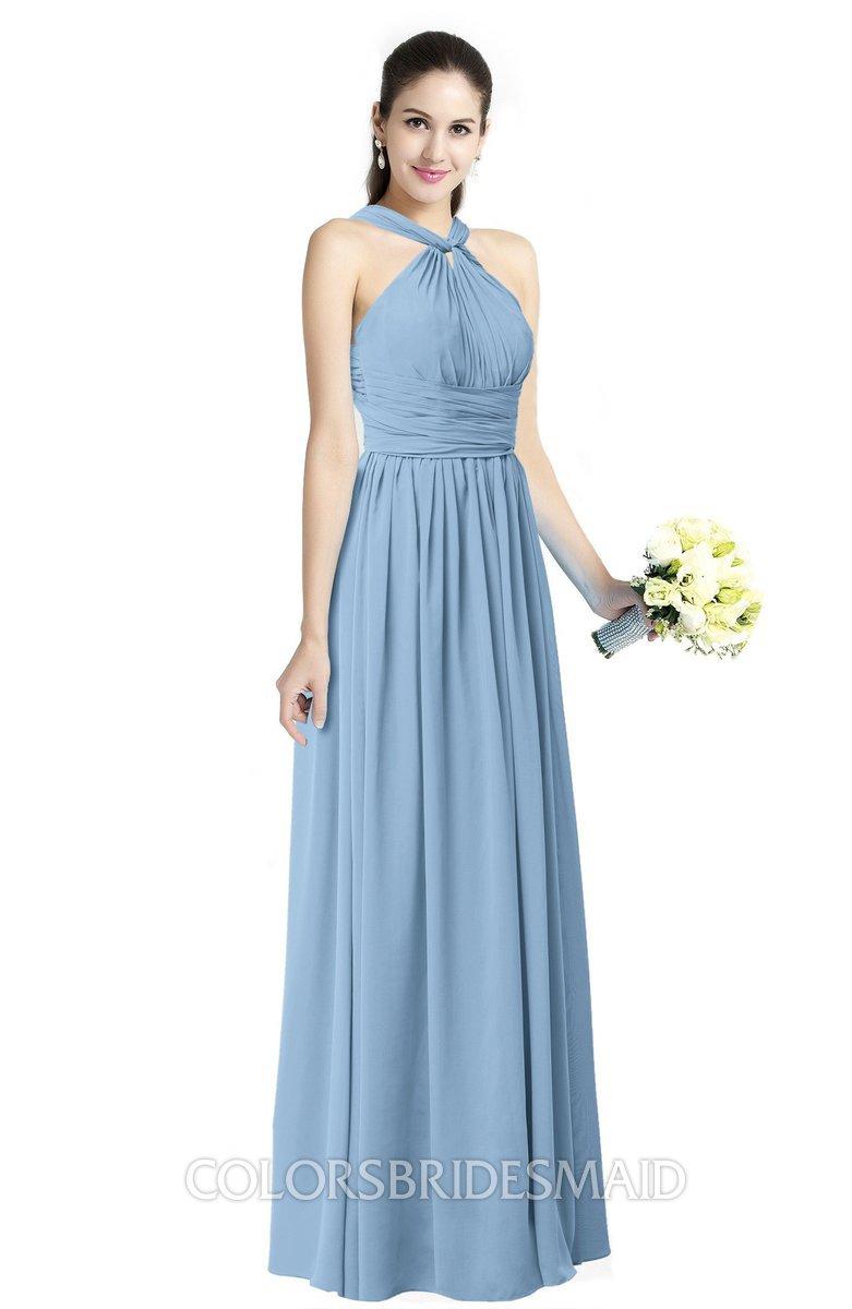 ColsBM Willa - Dusty Blue Bridesmaid Dresses