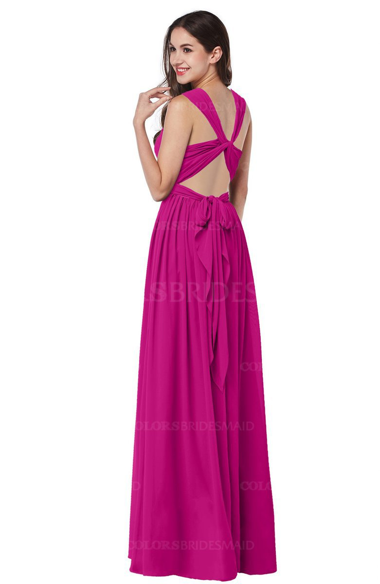 ColsBM Willa - Hot Pink Bridesmaid Dresses