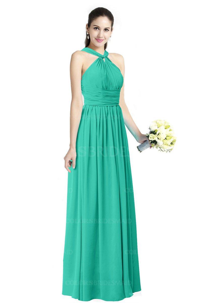 ColsBM Willa Viridian Green Bridesmaid Dresses - ColorsBridesmaid