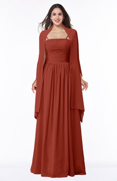 6dec56218582b ColsBM Elyse Rust Traditional A-line Sleeveless Zip up Chiffon Floor Length  Mother of the