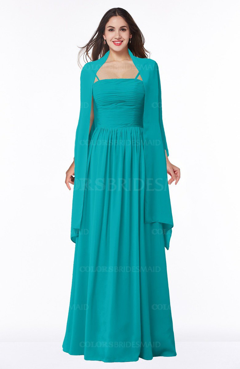 ColsBM Elyse Teal Bridesmaid Dresses - ColorsBridesmaid