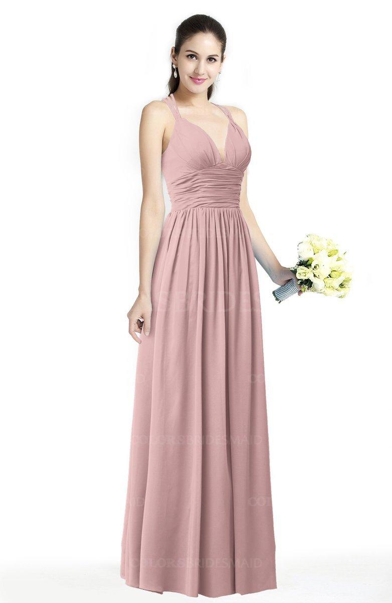 ColsBM Veronica - Silver Pink Bridesmaid Dresses
