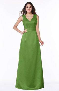 ColsBM Faye Clover Luxury A-line V-neck Sleeveless Satin Sash Wedding Guest Dresses