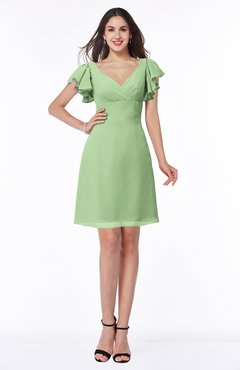 7282c4b2ac09d ColsBM Paola(173 colors). List Price  US 220.00. Special Offer  US 98.99.  ColsBM Clare Sage Green Modest Sweetheart Short Sleeve Floor Length Pleated  Plus ...