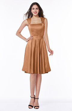 ColsBM Jaida Amber Classic A-line Half Backless Satin Sash Bridesmaid Dresses