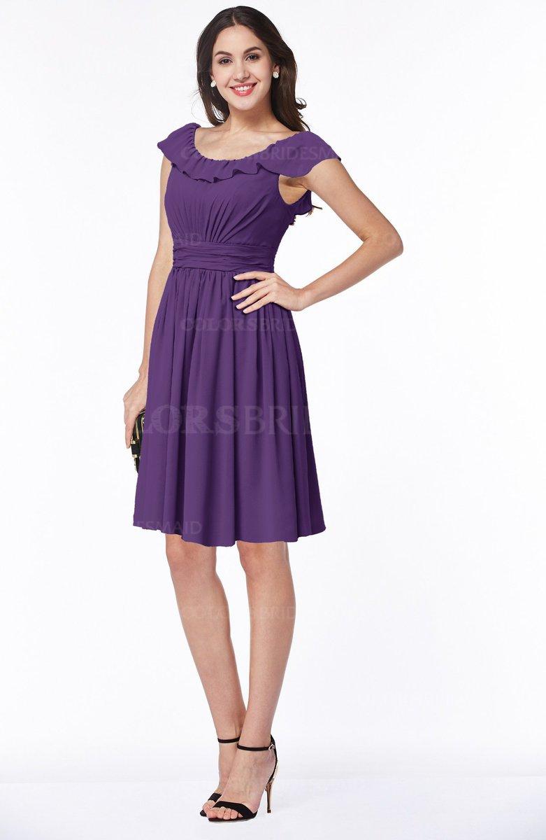 ColsBM Hadassah Dark Purple Bridesmaid Dresses - ColorsBridesmaid