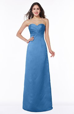 ColsBM Hilary Campanula Modest Strapless Sleeveless Criss-cross Straps Floor Length Evening Dresses