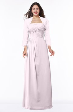 ColsBM Camila Blush Modest Strapless Zip up Floor Length Lace Mother of the Bride Dresses