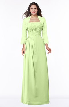 ColsBM Camila Butterfly Modest Strapless Zip up Floor Length Lace Mother of the Bride Dresses