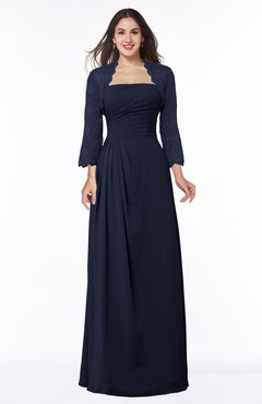 ColsBM Camila Dark Sapphire Modest Strapless Zip up Floor Length Lace Mother of the Bride Dresses