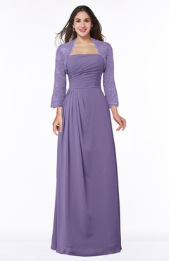 ColsBM Camila Lilac Modest Strapless Zip up Floor Length Lace Mother of the Bride Dresses