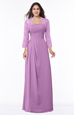 ColsBM Camila Orchid Modest Strapless Zip up Floor Length Lace Mother of the Bride Dresses