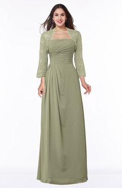 ColsBM Camila Sponge Modest Strapless Zip up Floor Length Lace Mother of the Bride Dresses