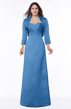 ColsBM Erica Campanula Traditional Criss-cross Straps Satin Floor Length Pick up Mother of the Bride Dresses