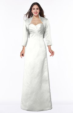 ColsBM Erica Ivory Traditional Criss-cross Straps Satin Floor Length Pick up Mother of the Bride Dresses