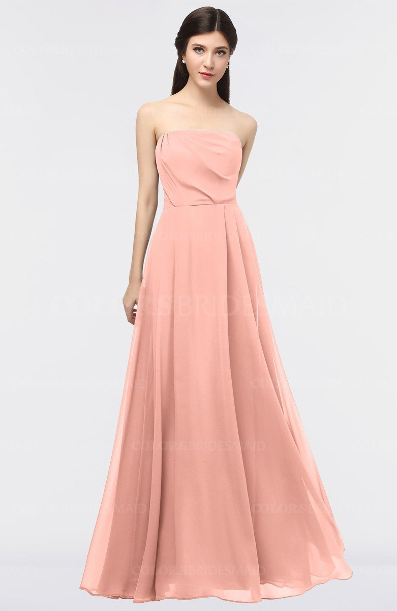 ColsBM Marlee Peach Bridesmaid Dresses - ColorsBridesmaid