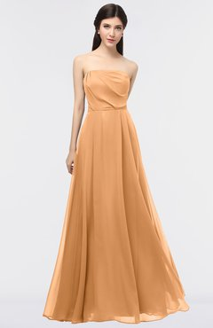 ColsBM Marlee Pheasant Modest A-line Sleeveless Zip up Floor Length Plainness Bridesmaid Dresses