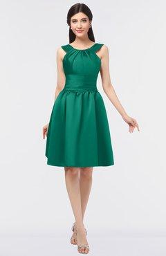 1a116d3c0785 ColsBM Leila Mint Mature A-line Scoop Sleeveless Ruching Bridesmaid Dresses