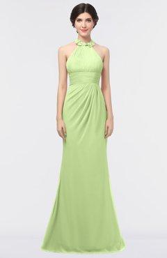 ColsBM Miranda Butterfly Antique Halter Sleeveless Zip up Floor Length Bridesmaid Dresses