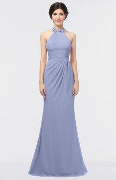 ColsBM Miranda Lavender Antique Halter Sleeveless Zip up Floor Length Bridesmaid Dresses