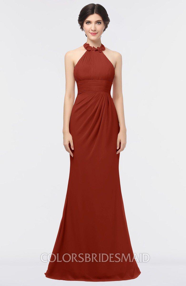 f35bf26a4e ColsBM Miranda Rust Bridesmaid Dresses - ColorsBridesmaid