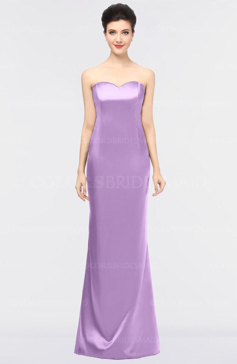 2a90bc64bbe ColsBM Reagan Begonia Mature Column Strapless Zip up Floor Length Plainness  Prom Dresses