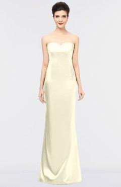 50a8cee30a3 ColsBM Reagan Bleached Sand Mature Column Strapless Zip up Floor Length  Plainness Prom Dresses