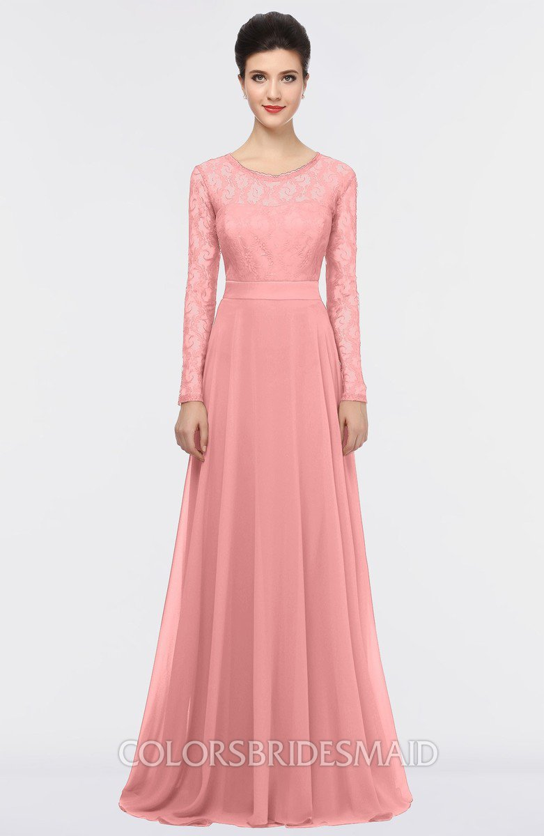 ColsBM Shelly Flamingo Pink Bridesmaid Dresses - ColorsBridesmaid