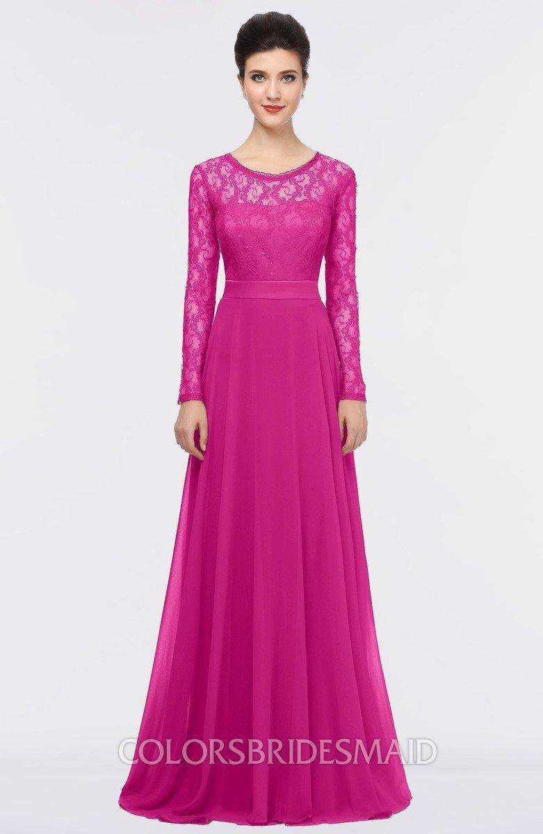 ColsBM Shelly Hot Pink Bridesmaid Dresses - ColorsBridesmaid