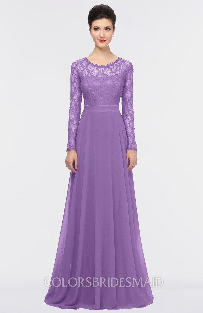 ColsBM Shelly Hyacinth Bridesmaid Dresses - ColorsBridesmaid