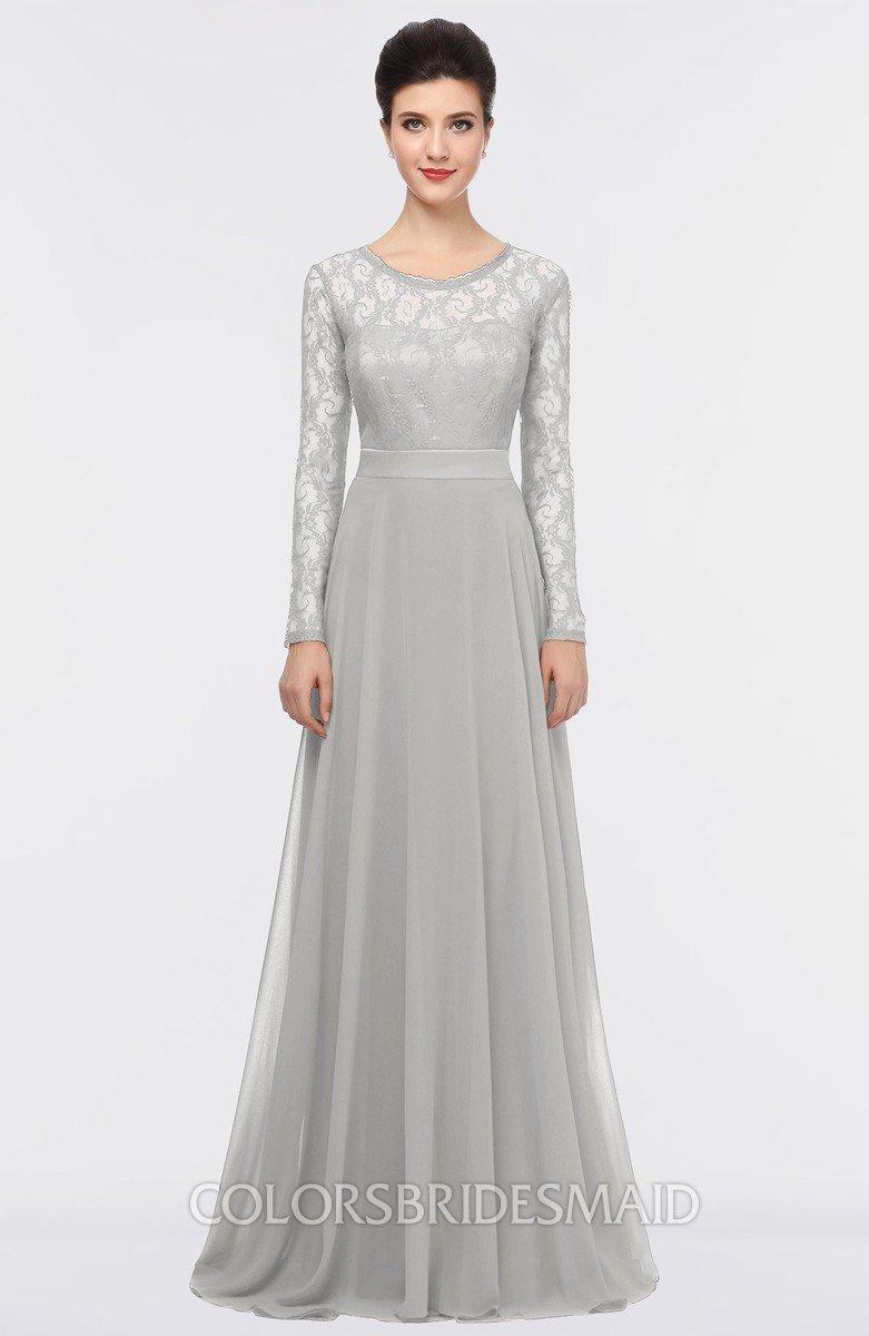 platinum bridesmaid dresses