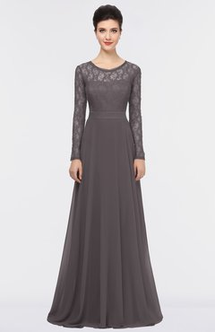 ColsBM Shelly Sparrow Romantic A-line Long Sleeve Floor Length Lace Bridesmaid Dresses