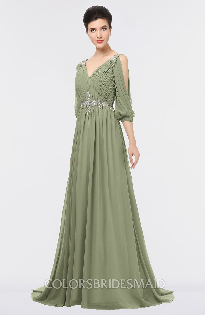 ColsBM Joyce Moss Green Bridesmaid Dresses - ColorsBridesmaid