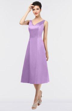e860e125142 ColsBM Joanna Begonia Mature A-line V-neck Zip up Plainness Bridesmaid  Dresses