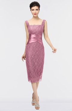 eaab8d3753d ColsBM Colette Begonia Pink Mature Column Sleeveless Zip up Lace Bridesmaid  Dresses