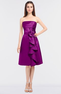 Plus Size Bridesmaid Dresses Purple Wine color, Free Custom Plus ...