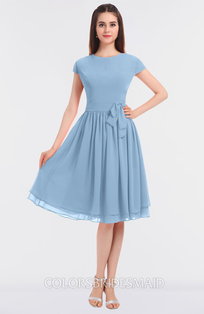 ColsBM Bella Sky Blue Bridesmaid Dresses - ColorsBridesmaid