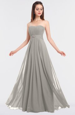 ColsBM Claire Ashes Of Roses Elegant A-line Strapless Sleeveless Appliques Bridesmaid Dresses