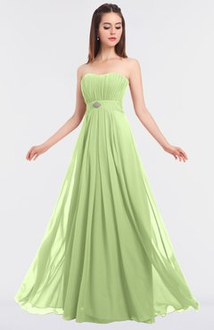 ColsBM Claire Butterfly Elegant A-line Strapless Sleeveless Appliques Bridesmaid Dresses