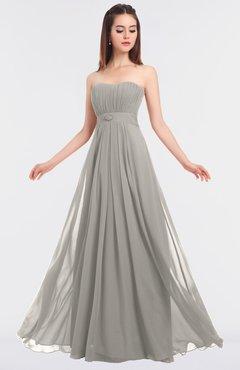 ColsBM Claire Hushed Violet Elegant A-line Strapless Sleeveless Appliques Bridesmaid Dresses