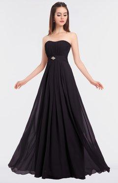 ColsBM Claire Perfect Plum Elegant A-line Strapless Sleeveless Appliques Bridesmaid Dresses