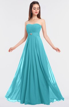 ColsBM Claire Elegant A-line Strapless Sleeveless Appliques Bridesmaid Dresses