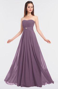 ColsBM Claire Valerian Elegant A-line Strapless Sleeveless Appliques Bridesmaid Dresses