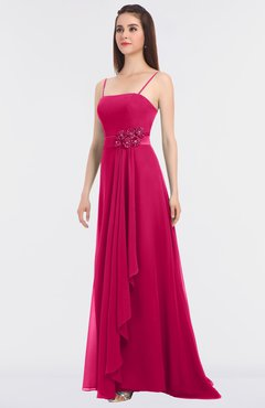 f37a526a829 ColsBM Caitlin Fuschia Modern A-line Spaghetti Sleeveless Appliques  Bridesmaid Dresses