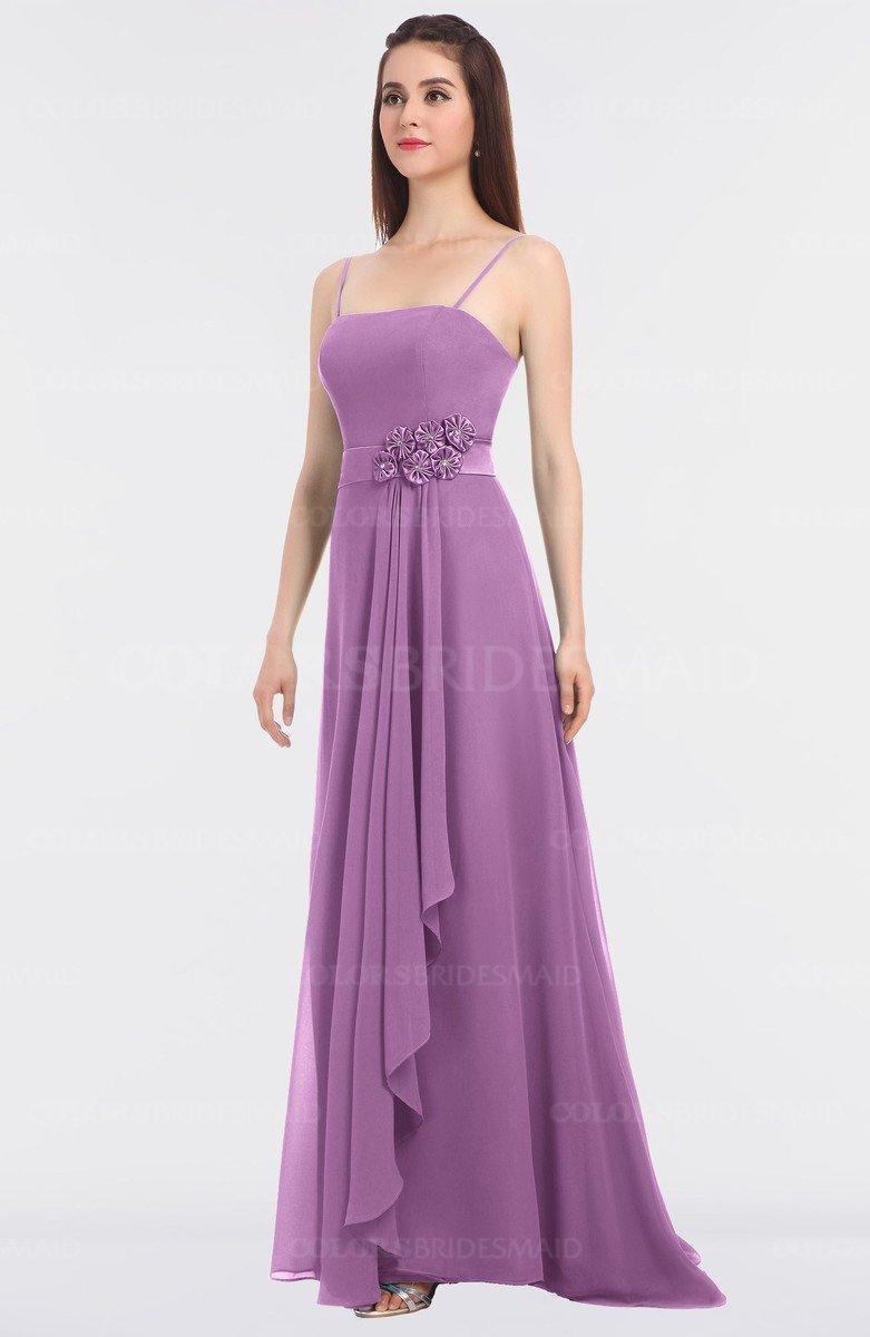 678c8e62900a ColsBM Caitlin Orchid Modern A-line Spaghetti Sleeveless Appliques  Bridesmaid Dresses. ColsBM Ayla Orchid Elegant Zip up Chiffon Floor Length  ...