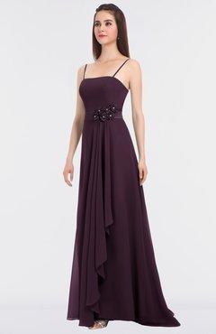 f18bb7c48358 ColsBM Caitlin Plum Modern A-line Spaghetti Sleeveless Appliques Bridesmaid  Dresses