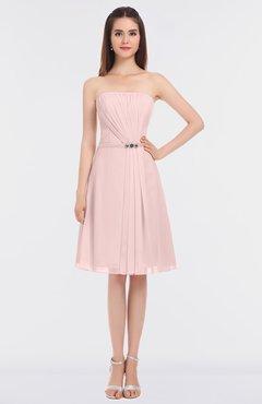6c98b6265543 ColsBM Heavenly Pastel Pink Glamorous A-line Bateau Sleeveless Zip up  Appliques Bridesmaid Dresses