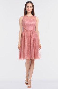 79a22c53dfd2 ColsBM Tara Same As Picture Romantic Jewel Sleeveless Hook up Knee Length  Bridesmaid Dresses