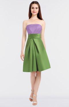 94d494aa9e6 ColsBM Trinity Begonia Glamorous A-line Zip up Knee Length Ruching Bridesmaid  Dresses