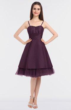 06645556e4c1 ColsBM Raelyn Plum Princess Spaghetti Sleeveless Zip up Knee Length  Bridesmaid Dresses